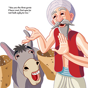 The Genie and the Woodcutter 12