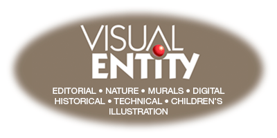 Visual Entity - Illustration of A. Michael Shumate
